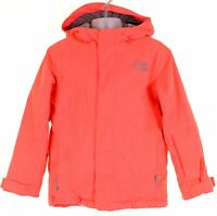 THE NORTH FACE Girls Windbreaker Jacket 5-6 Years XS Pink Polyester  IH05