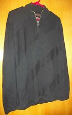 Perry Ellis Anniversary Collection Mens Black Textured Knit Sweater, size XL