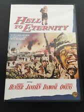 HELL TO ETERNITY - Jeffrey Hunter- George Takai- David Janssen 1960 DVD BIN