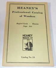 Heaney Catalog Of Wonders 1920s Professional Stage Magic Art Deco Illustrations