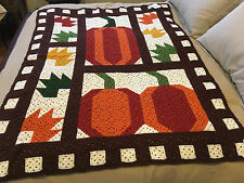 Handmade Afghan Throw / Blanket - From Designer Collection - Signs of Fall