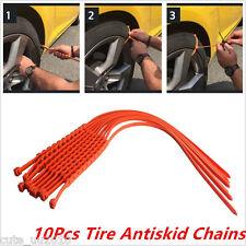 10 Car Truck Snow Wheel Tyre Tire Antiskid Chain Slip Universal Thickened Tendon