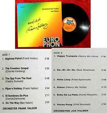 LP Frank Valdor / Joe Palmer (Europhon ELP 515) Signiert von Frank Valdor