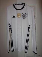Adidas - Germany EURO 2016 Long Sleeve Soccer Football Jersey - sz. M