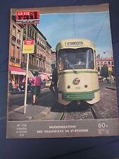 Vie du rail 1959 718 VIADUC GARABIT SAINTES PONT L'EVEQUE tramways saint étienne