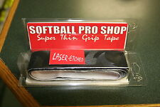 SOFTBALL SUPER GRIP BAT TAPE- LAZER -ETCHED BAT TAPE- THIN AS WHITE TAPE