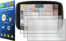 """3x Clear LCD Screen Protector Guard Cover Film for Tomtom GO 60 S 60S 6.0"""" GPS"""