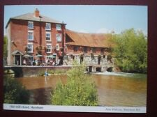 POSTCARD WILTSHIRE HARNHAM - THE OLD MILL HOTEL