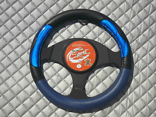 PEUGEOT 106 / 205 / 206 CAR STEERING WHEEL COVER SWP 19 M - NEW NEON BLUE