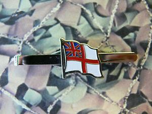 Royal Navy Wavy Ensign Tie Clip / Bar / Slide RN Version 2