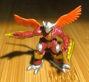 2001 Bandai Digimon BurningGreymon Mini Figure H-T