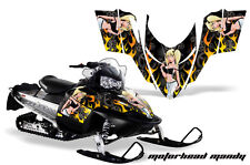 AMR Racing Sled Wrap Polaris Switchback Snowmobile Graphics Kit 06-10 MOTO MANDY