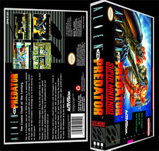 Alien VS Predator - SNES Reproduction Art Case/Box No Game. Playstation 2