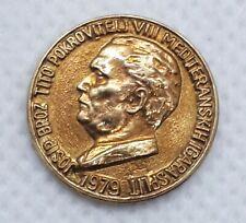 1979 Mediterranean Games 1979. Split Josip Broz Tito - game sponsor small medal