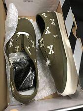 Vans X Wtaps OG Authentic Olive Bones Size 6.5 NEW