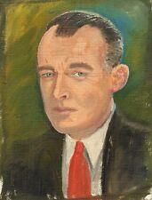 Knud SCHOU (1913-1999) » Porträt - Mann im Anzug «