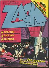 ZACK Nr.30 vom 18.7.1974 mit Dan Cooper, Luc Orient, Lucky Luke - TOP Z1 COMIC