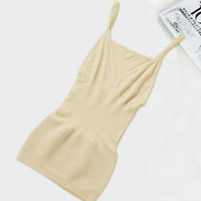 Women's Body Shaper Genie Bra Shapewear Tank Top Slimming Tummy Control Camisole