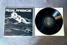 METAL MASSACRE Metal Blade 1982 1st Pressing LP RATT METALLICA very rare.