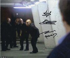 Doctor Who Signed 8x10 photograph Paul Kasey, Richard Tunesi & Andy Jones