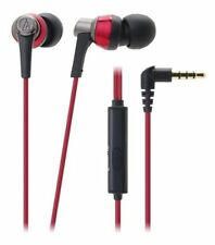 Audio-technica inner ear headphone ATH-CKR3iS RD for smartphone / EMS SPEEDPOST