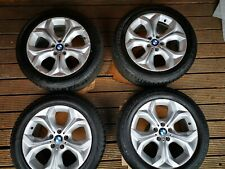 Four BMW X5 E70 OEM Wheel Rims 19 inch incl tyres with lots of tread