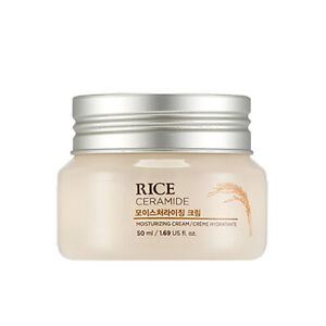 [THE FACE SHOP] Rice & Ceramide Moisturizing Cream 50ml Free gifts