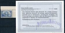 Dt. Reich 2 Mark Nord/Süd 1902** Michel 79 Bogenecke Befund (S13333)