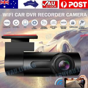 1080P WiFi Car DVR 170° FHD IR Dash Cam Video Recorder Camera APP Night Vision