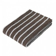 MUJI Organic cotton bath towel Middle Thick Brown stripe 70×140cm MoMA