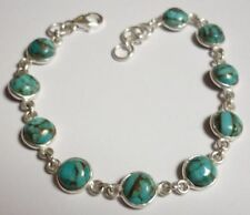 Sterling Silver Blue Turquoise Fine Jewellery