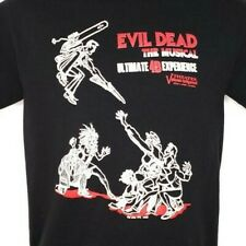 Evil Dead The Musical T Shirt Planet Hollywood Las Vegas Ash Zombies Size Small