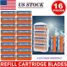 16Pcs for Gillette Fusion 5-Layer Men's Razor Blade Refills Replacement US FAST