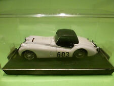 BRUMM 1:43   JAGUAR XK 120 RALLY ALPES -  GOOD CONDITION  - IN ORIGINAL SHOWCASE