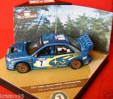 SUBARU IMPREZA WRC03 RALLYE AUSTRALIE 2003 SOLBERG 1/43 VITESSE 43101 MILLS