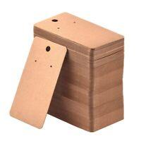 70536 Cardboard Apparel Swing Tags 25 x 38mm