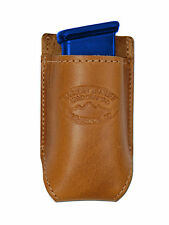 NEW Barsony Tan Leather Single Magazine Pouch for Sig Sauer Compact 9mm 40 45