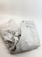 Patagonia Sidewall H2no White Gray Checked Snow Pants Men's Sz M