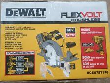 DEWALT Brushless Combo Kit (2-Tool) FLEXVOLT 60-Volt MAX Lithium-Ion Cordless