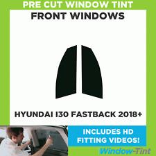Pre Cut Window Tint - Hyundai I30 Fastback 2018 Front Windows