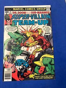 Super-Villain Team-Up #9 - Iron Man vs. Dr. Doom - Sub-Mariner -Avengers VF/NM