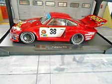 PORSCHE 935 Turbo Gelo Loos #38 Schenken Heyer Hezeman Le Mans 1977 Norev S 1:18