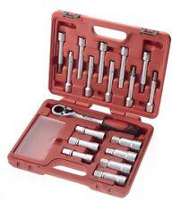 SWV 619035 Universal Stoßdämpfer Domlager Federbein Werkzeugsatz 18tlg