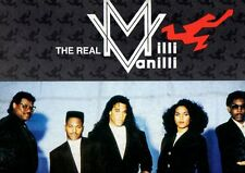 LP 4559 THE REAL MILLI VANILLI  THE MOMENT OF TRUTH
