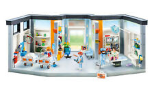 PLAYMOBIL Furnished Hospital Wing NEW FREE FAST SHIP