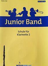 Günter Voit - Junior Band - Schule für Klarinette 2