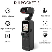 00006000 Dji Osmo Pocket 2 Touchscreen Handheld 3-Axis Gimbal Stabilizer Camera