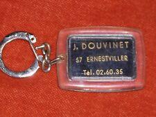 Porte-clé Keychain Mobylette Jos. DOUVINET 57 ERNESTVILLER Pompes Essence Super
