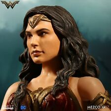 """Mezco Wonder Woman Movie One:12 Collective 6"""" Action Figure Brand New In Stock!"""