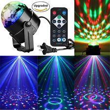 Rotating 7-Color Changing Lights Disco Ball Wedding Birthday DJ Club Party